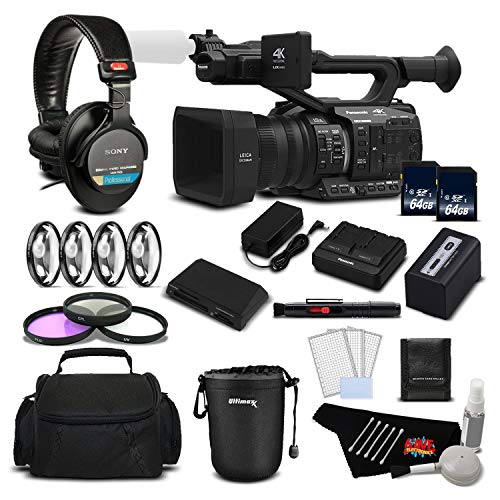 Why Should You Buy Panasonic AG-UX90 4K/HD Professional Camcorder Deluxe Bundle