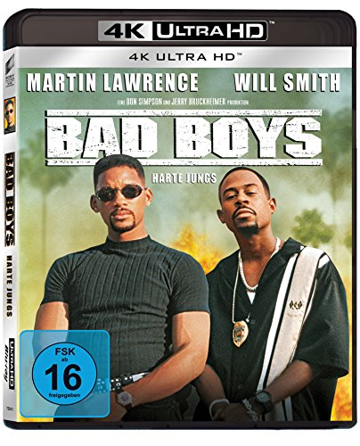 Bad Boys - Harte Jungs (4K Ultra HD) [Blu-ray]