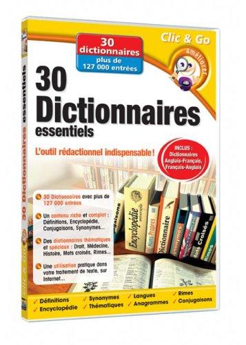 30 dictionnaires essentiels