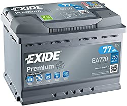 Exide EA770 Premium Carbon Boost Car Battery 12V 77Ah 760A