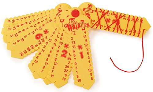 Learning Wrap-Ups Multiplication Keys, Yellow by