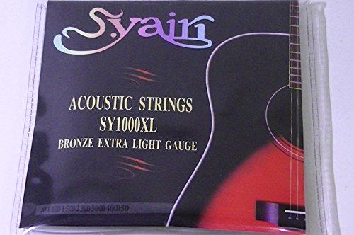 s. yairi Akustische Gitarre Saiten sy-1000X L Extra Light (011–050) sy-1000X L