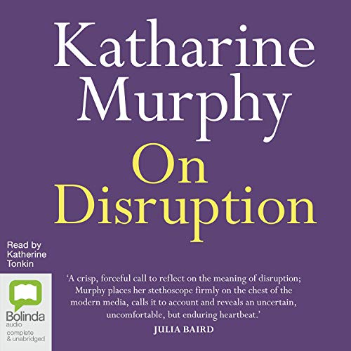 On Disruption cover art