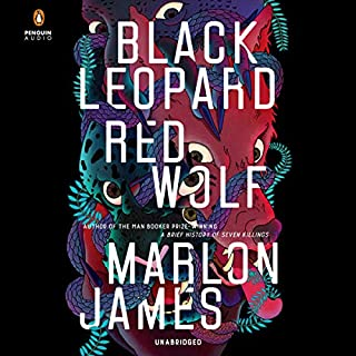 Black Leopard, Red Wolf audiobook cover art