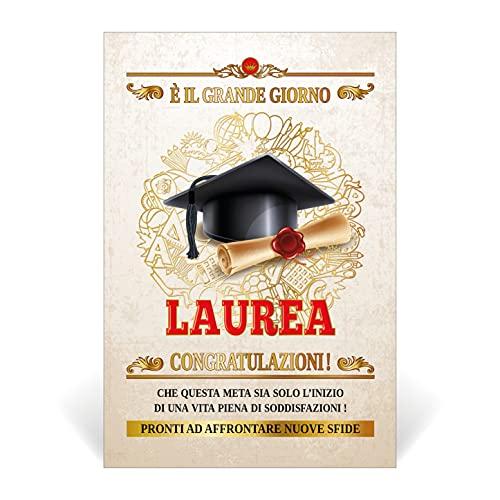 Biglietto Portasoldi Auguri Laurea (PERGAMENA) porta soldi