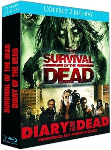 Coffret horreur : survival of the dead ; diary of the dead [Blu-ray] [FR Import]