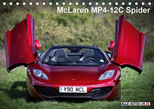 McLaren MP4-12C Spider (Tischkalender 2021 DIN A5 quer)