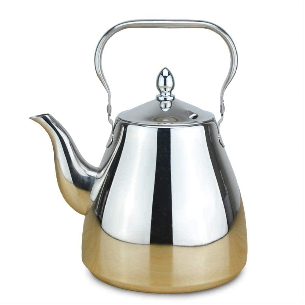 Simple and National uniform free shipping Creative Gorgeous 1200Ml with Stainless Teapot Steel