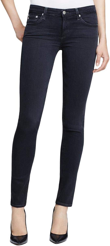 Adriano goldschmied Womens The Stilt Denim Embroidered Cigarette Jeans