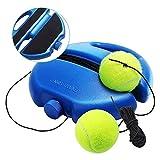 Solo Tennis Trainer Rebound Ball Voberry Tennis Trainer Green Tennis Ball Trainer Tennis Equipment Fill /& Drill Tennis Trainer with String,Rebounder Tennis Practice Equipment