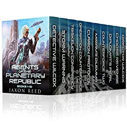 Agents of the Planetary Republic Box Set (Books 1-10)