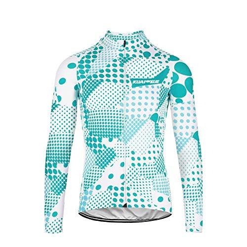 Uglyfrog Damen Winter with Fleece Männer Radfahren Langarm Radfahren Trikots eine Menge Farben Antislip Ärmel Road Bike MTB Top Riding Shirt