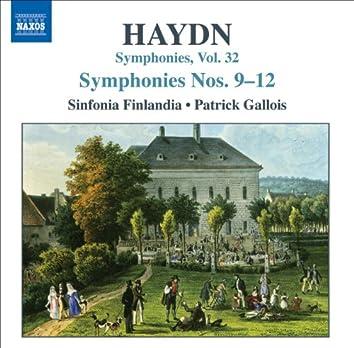 Haydn: Symphonies, Vol. 32 (Nos. 9, 10, 11, 12)