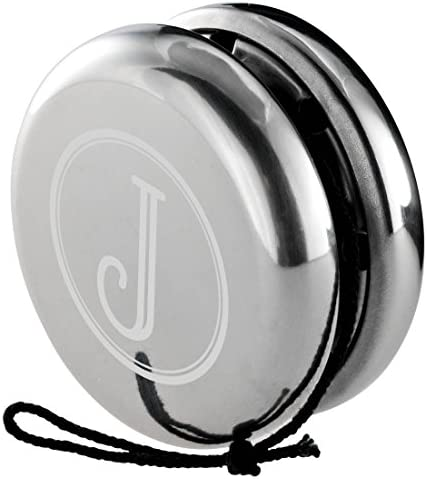 Visol Personalized Trickster Stainless Steel Yo Yo Free Engraving Single Inital product image