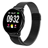 Powcan Smartwatch Orologio Fitness Uomo Donna, Fitness Tracker Orologio Cardiofrequenzimet...