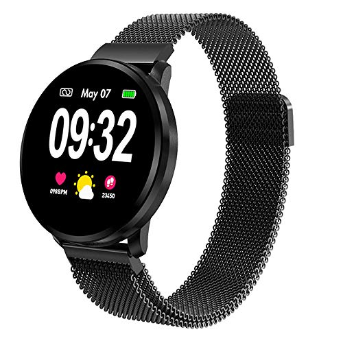 Powcan Smartwatch Orologio Fitness Uomo Donna, Fitness Tracker Orologio Cardiofrequenzimetro e...