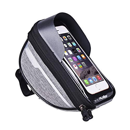 Bike Bag Frame, de 6,4 Pulgadas Pantalla Táctil Bike Bag para Deportes y Aire Libre
