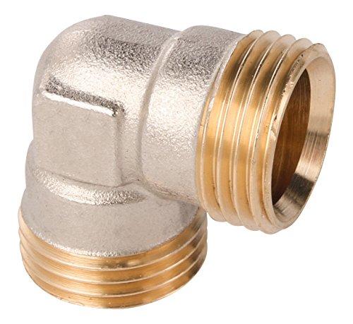Wiroflex Anillo atornillado Fitting para tubo multicapa, 1pieza, 3/4a, cromo, 260138