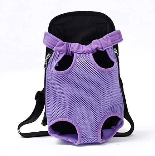 NANANANA Mochila de malla para perros de mascotas transpirable de camuflaje al aire libre productos de viaje bolsas para perros pequeños gatos chihuahua malla mochila