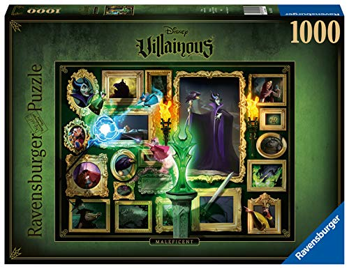 Ravensburger Puzzle 15025 - Villainous: Malificent - 1000 Teile
