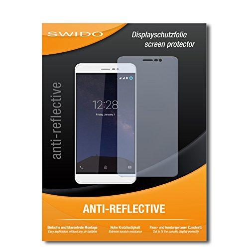 SWIDO Bildschirmschutz für Coolpad Porto S [4 Stück] Anti-Reflex MATT Entspiegelnd, Hoher Festigkeitgrad, Schutz vor Kratzer/Glasfolie, Schutzfolie, Bildschirmschutzfolie, Panzerglas Folie