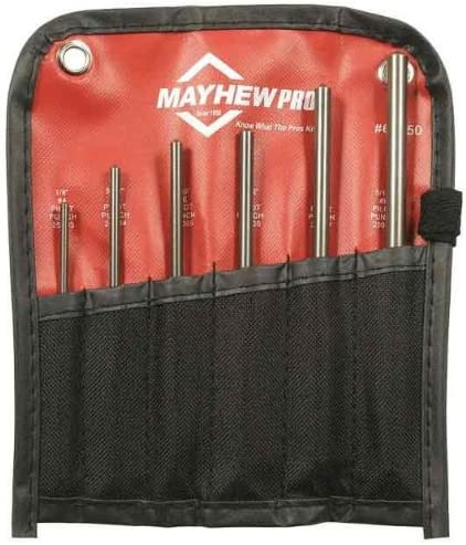 Mayhew 66250 Metric Pilot Punch San Diego Mall Tulsa Mall 6-Piece Kit