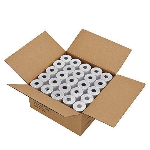 MFLABEL 50 Rolls 2 1/4' x 85' Thermal Paper Cash Register POS Receipt Paper