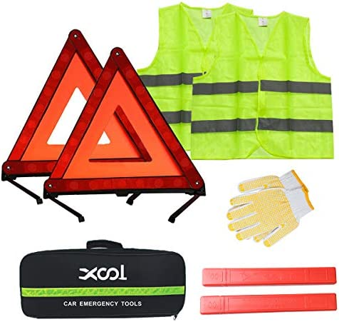 Top 10 Best emergency road kit for car with air compressor & flares