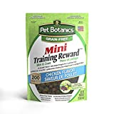 Pet Botanics Mini Training Rewards Grain-Free Chicken Treats For Dogs (1 Pouch), 4 Oz