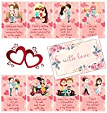 Best Valentine's Day Cards - Fluffick Love Cards with Beautiful Envelope | Valentine Review