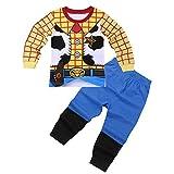 iiniim Conjuntos Pijama Niño Top y Pantalones Ropa de Dormir Algodón Ropa Interio rpara Niños Chicos (18 Meses a 8 Años) Amarillo 4-5 años