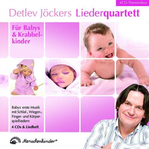 Liederquartett: Für Babys und Krabbelkinder - Themenbox: Babys erste Musik mit Schlaf-, Wiegen-, Finger- und Körperspieliedern