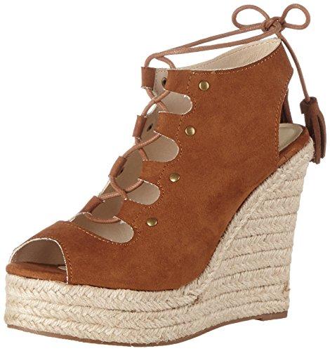 Buffalo Shoes Damen 314550 IMI Suede Riemchensandalen, Braun (Brown 01), 36 EU