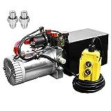 8 Quart DC 12V Hydraulic Pump Power Supply Unit...