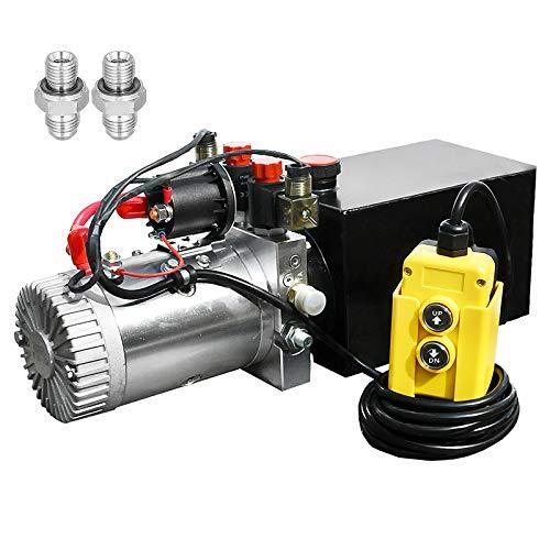 8 Quart DC 12V Hydraulic Pump Power…