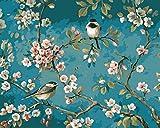 YXQSED Peinture par numéro Kit, Peinture à l'huile Bricolage avec Brosses et Peintures pour...