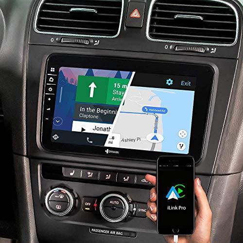 DYNAVIN Autoradio Navi für VW Passat Golf Polo Tiguan Touran Sharan | Skoda Octavia | SEAT, 8 Zoll OEM Radio mit Bluetooth, inkl. DAB+, USB, Kompatibel mit Carplay und Android Auto: N7-V8-Flex