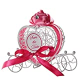 SIRIGOGO - 1 Caja de Caramelos romántica para Dulces, Chocolate, Bodas, Fiestas, Regalos, no Solo colecciona Caramelos, Sino también una decoración para tu salón