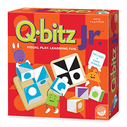 MindWare QBITZ Q-bitz Junior Board Game