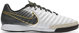 Tiempo Legend 7 Academy IC Soccer Shoes (White/Black) (Men's 12/Women's 13.5)