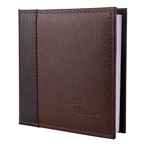 FaCraft 5x7 Photo Album 80 Photos Vertically,5x7 Photo Album Hold 80 Pictures for Family (80 Pockets)