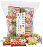 eFrutti Gummi Candy Variety Party Pack: Pizzas, Mini Burgers, Sour Mini Burgers, Hot Dogs, Cup Cake, Sea Creature