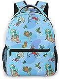 Phoenix Basic Mochila de viaje para portátil Novedad Mochila escolar Ocean World1