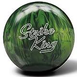 Brunswick Strike King Bowling Ball, Emerald Pearl, 15-Pound