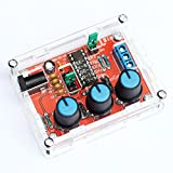 Walmeck XR2206 High Precision Function Signal Generator DIY Kit Sine/Triangle/Square Output 1Hz-1MHz Adjustable Frequency Amplitude