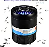 RockBirds Mosquito Trap USB Powered Bug Zapper, Non-Toxic UV LED Bug Zapper,Safe