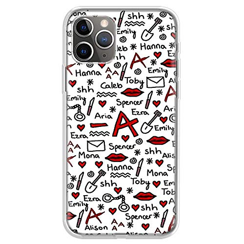 KOUHANGYU Pretty Little Liars iPhone Case Soft Clear Silicone TPU Phone Cover Funda iPhone 5 5S SE Case SU055-6