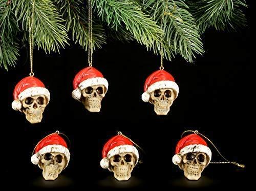 Figuren Shop Gmbh Gótico Bolas para Árbol de Navidad -...
