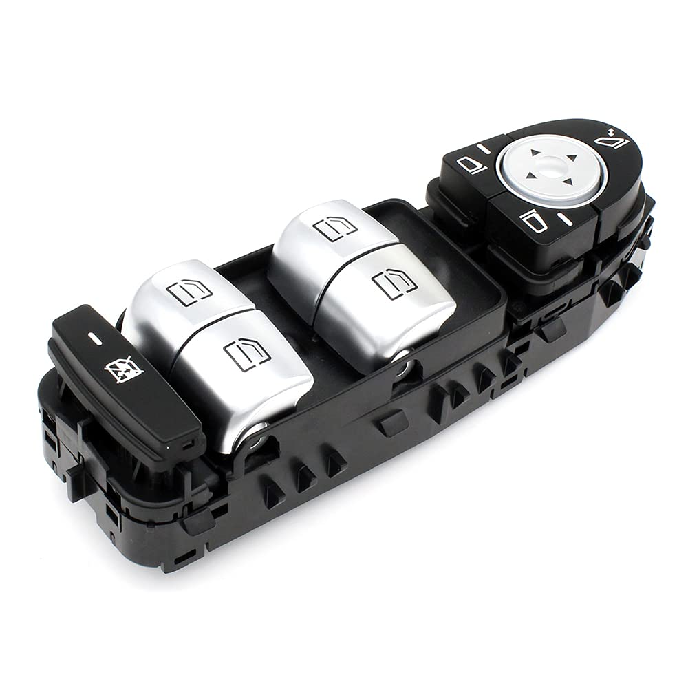 Free shipping anywhere in the nation Black Master Power Window Control Merc Switch Fit 2059056811 Courier shipping free shipping for