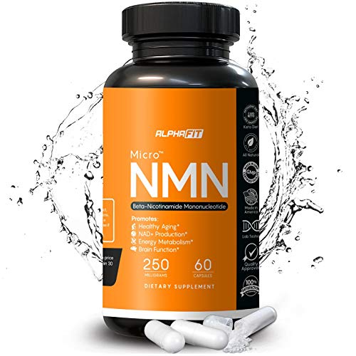 51YQYA3BK2L - NMN Supplements - NMN Nicotinamide Mononucleotide Supplement - NAD Supplement - NAD Booster Supplement - NMN Supplement NAD Plus Cell Regenerator - NMN - Anti Aging Supplement - 250mg - AlphaFit